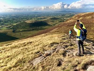 Hiking in the Mourne Mountains