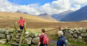 Doan in Mourne Mountains in Northern Ireland 1