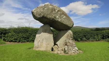 Proleek Dolmen on Cooley Peninsula