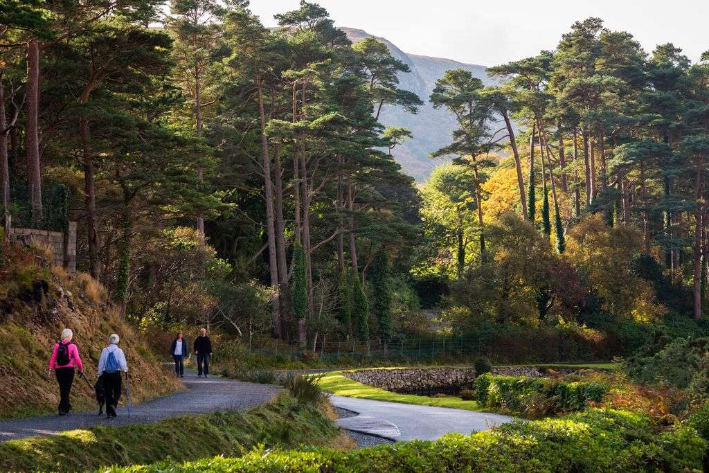 Hikers in Glenveagh National Park